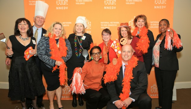 NNEDV Board of Directors at 2014 Chefs Take a Stand