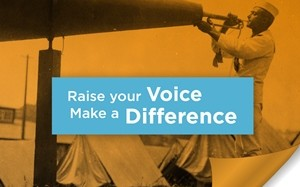 Raise your voice and make a difference