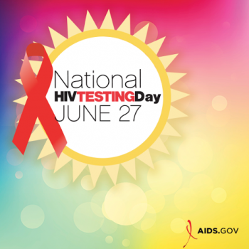 Infographic National HIV Testing Day 2016 logo