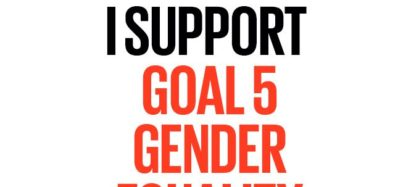 I support Goal 5 Gender equality the global goals