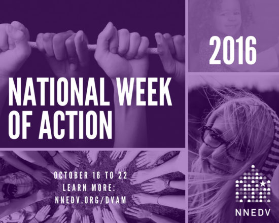 Infographic National Week of Action 2016 October 16 to 22