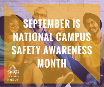 September is national campus safety awareness month