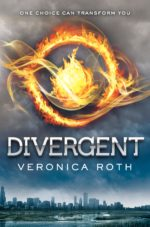 Book cover Divergent by Veronica Roth